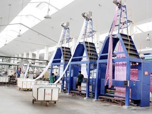 潍坊某纺织(印染)厂应用有机硅消泡剂